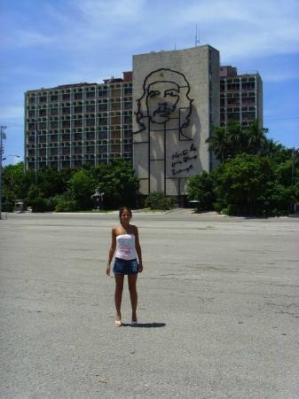 Plaza de la Revolucion: me in revolution square