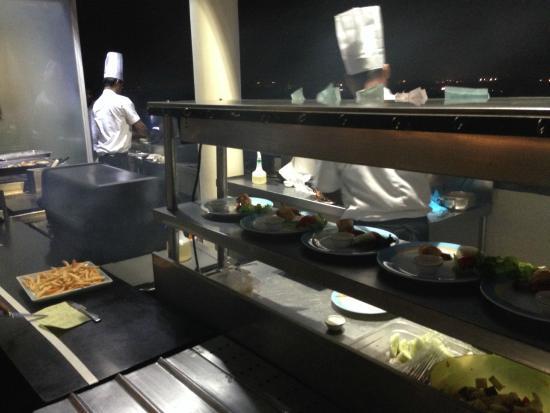 Above Sea level: Live Kitchen