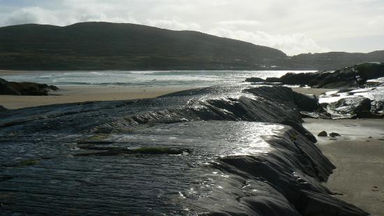 Derrynane Beach: Felsiger Strand