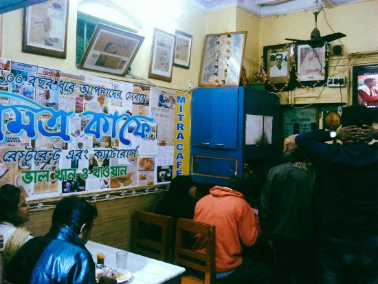 Mitra Cafe : Inside