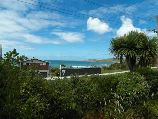 Cardno's Accommodation: View towards Nugget Point