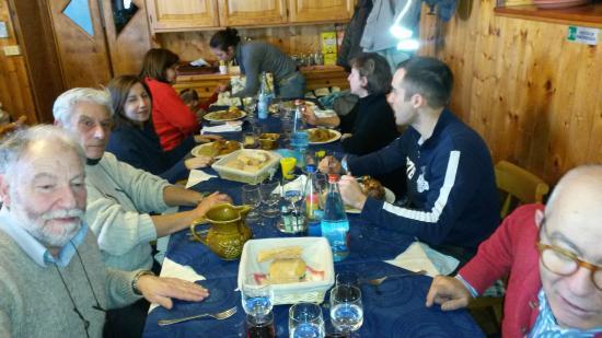 Rifugio Giuseppe e Bruno : ottimo pranzo - ottima compagnia
