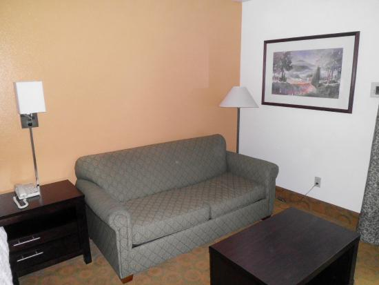 Hampton Inn Livermore: sofa bed