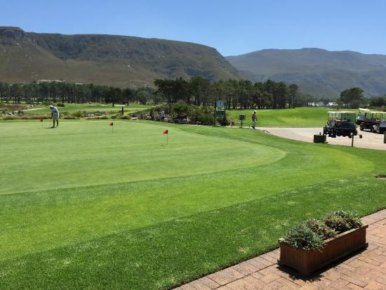 Hermanus, Afrique du Sud : Putting Green
