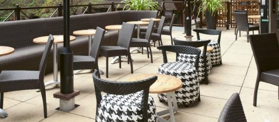 Missoula: The Terrace (a peaceful alfresco sun trap in the heart of the city)