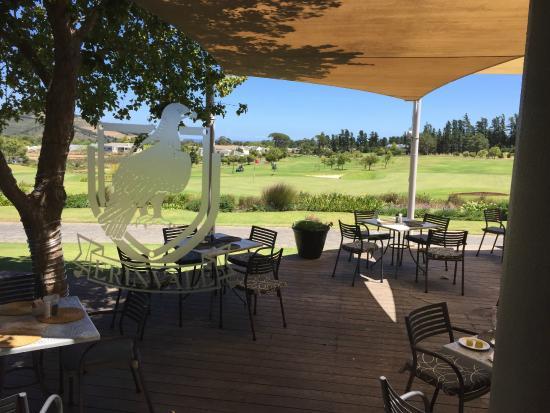 Erinvale Golf Club: Terrasse Club House