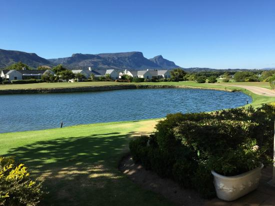 Steenberg Golf Club: Terrasse