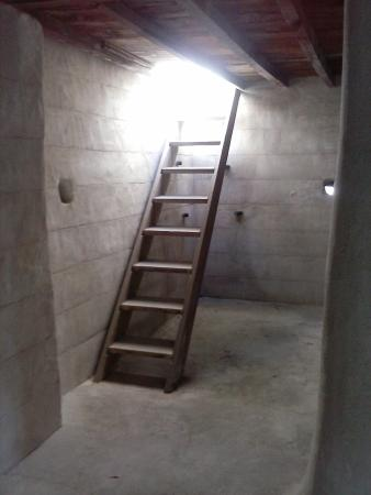 Ras Al Khaimah National Museum: The first stair to the roof