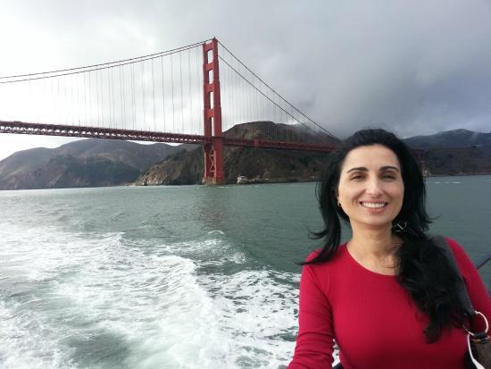 San Francisco Bay Boat Cruises/Wine Tasting on the Bay: Golden Gate Bridge