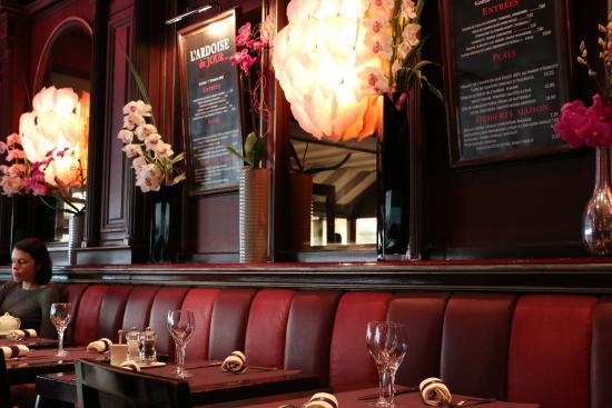 Brasserie Café Capucine - Picture of Restaurant Capucine Cafe ...