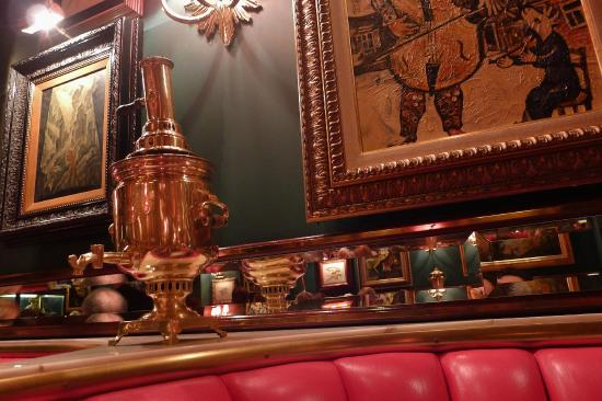 Russian samovar - Picture of The Russian Tea Room, New York City ...