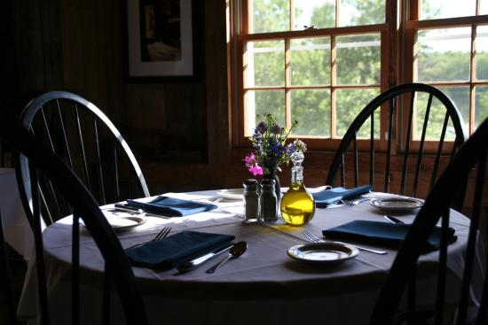 Deer Isle, ME: Our dining room in the late afternoon