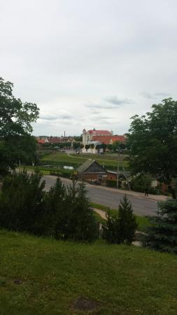 Kedainiai, Lithuania: Old town view.