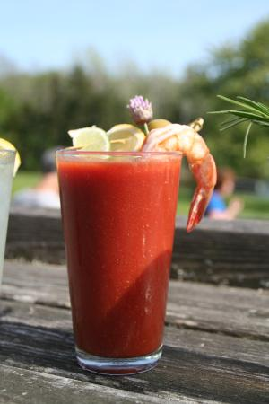 "Pilgrim's Inn: Our ""Bloody Maria"" made with tequila"