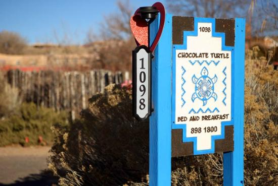 Corrales, NM: Sign posted on street