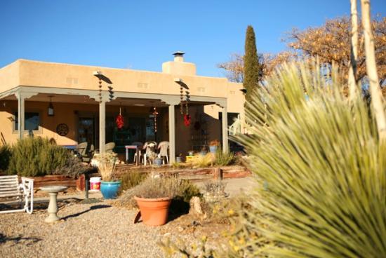 Corrales, Nouveau-Mexique : Read of the property
