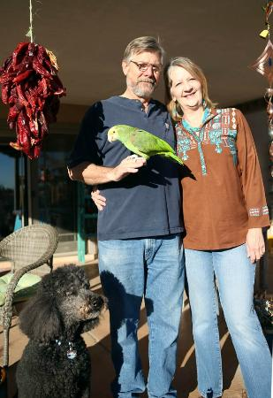 Corrales, NM: Innkeepers Denise and Keith