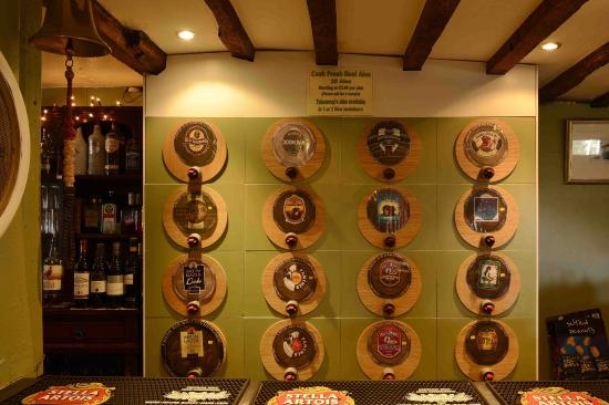 Litcham, UK: The Bull Real Ale Selection
