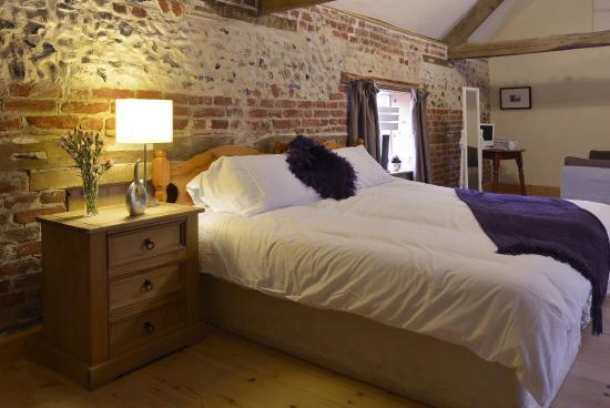 Litcham, UK: The wonderful Hayloft Room