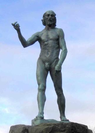 Glenkiln Sculptures: John the Baptist by Rodin