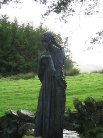 Glenkiln Sculptures: Visitation by Epstein