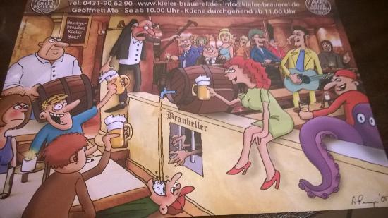 Kieler Brauerei: Bryggeriet