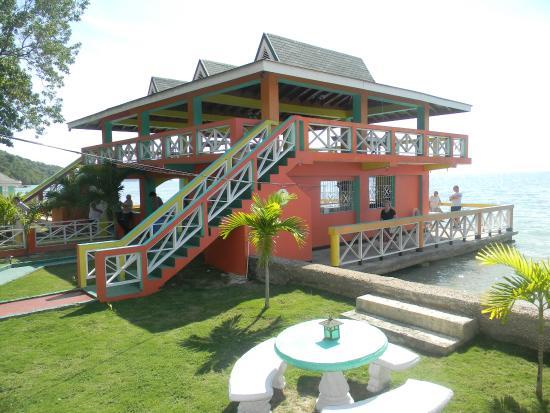 Westmoreland Parish, Jamaica: Beach Bars and Conference Area