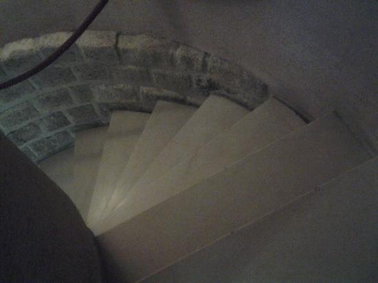 Hotel Regence: staircase