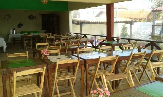 Marina Barro Preto Hotel: Vista Restaurante