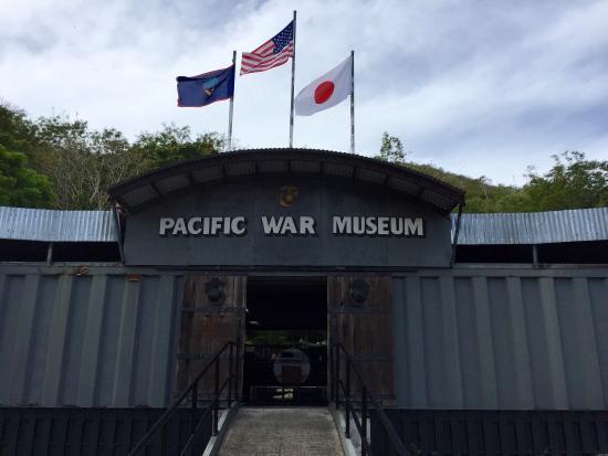Guam Pacific War Museum: The front entrance