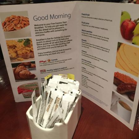 Holiday Inn Food Menu Edinburgh