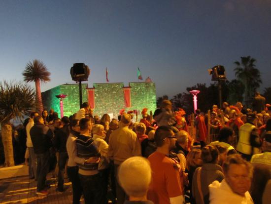 Castillo de San Felipe: In P dl Cruz Feast of the Three Kings starts from here  (6th January)