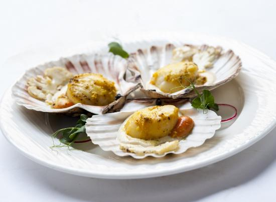 Navan, Ireland: Scallops