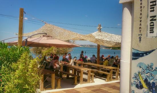 Restaurant An nam : La terrasse