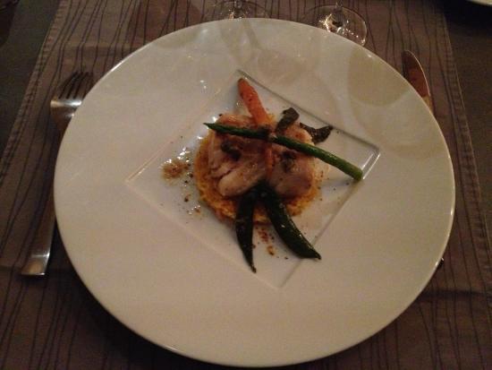 Restaurant la Salicorne: Dos de cabillaud aux fleurs de câpres