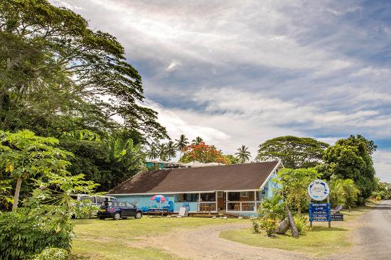 Cook Islands Whale and Wildlife Centre : Just 900 metres from the Main Road by Avatiu Harbour/Saturday Punanga Nui Market