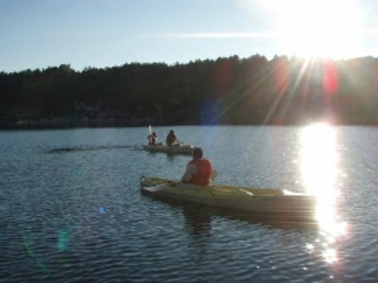 Bayside Motel: Canoe Rentals