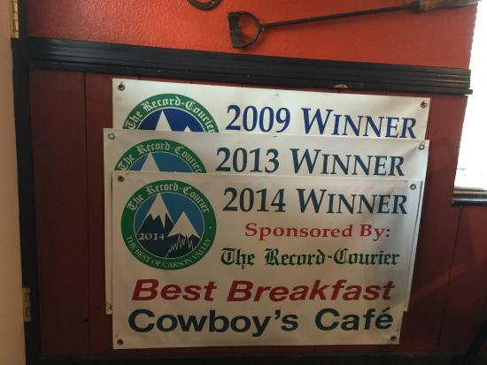Cowboys Cafe: Minden people like it !