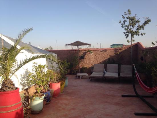 Riad azalia: Rooftop