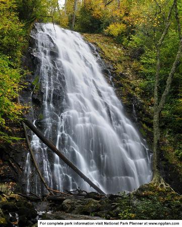North Carolina Mountains, Caroline du Nord : Crabtree Falls