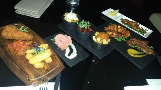 Nuvo Bar & Restaurant: Tapas for two...