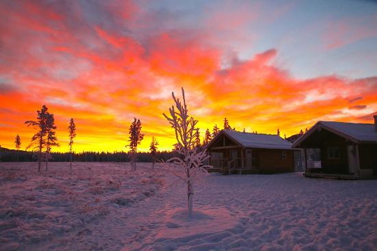 Northern Lights Resort & Spa: January Sunrise