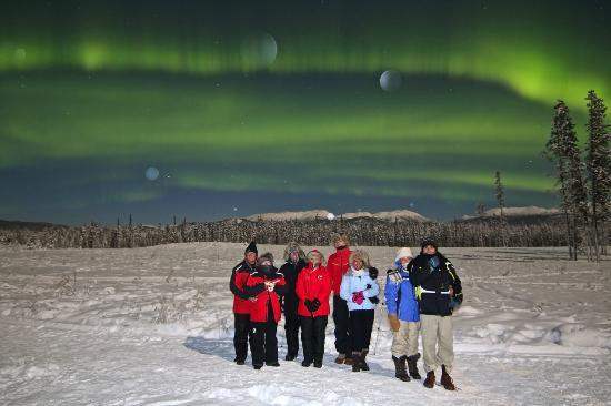 Northern Lights Resort & Spa: Full Moon Aurora