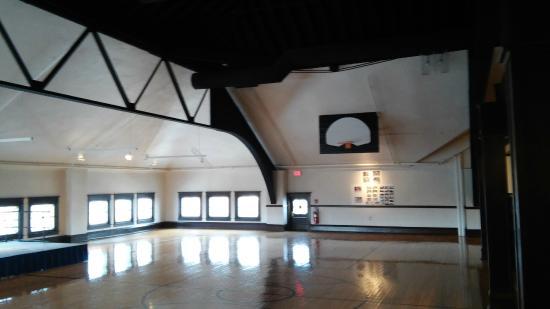 Northwest Territory Historic Center: old gymnasium
