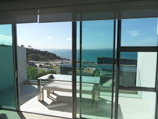Doubtless Bay Villas: What a view from the balcony!