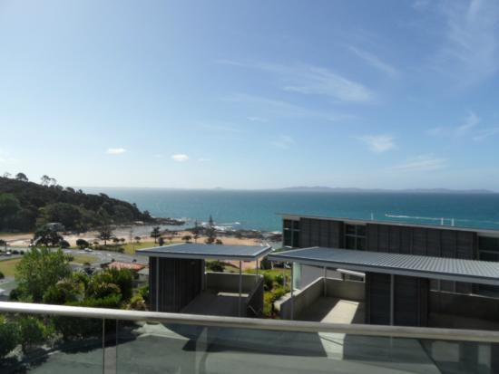 Doubtless Bay Villas: Upstairs bedroom view was even better