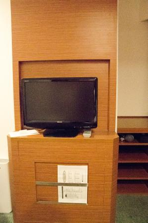 Hotel MyStays Kamata : View of tv from bed