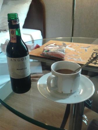 Hotel Ankara Altinel: Barcelo minibar