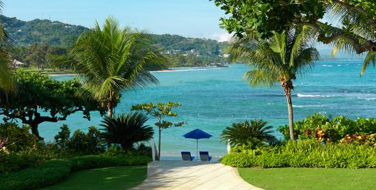 Hopewell, Jamaica: Perfect beach day at  Round Hill