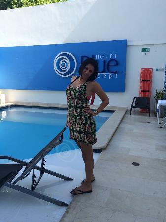 Hotel Blue Concept: Blue concept s. Pool